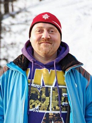 Федор Богинский – инструктор лыжной школы «Каштан»